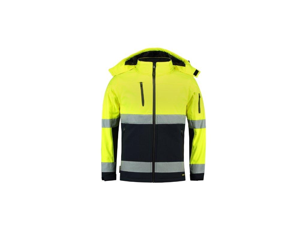 Bi-color EN ISO 20471 Softshell Softshellová bunda unisex