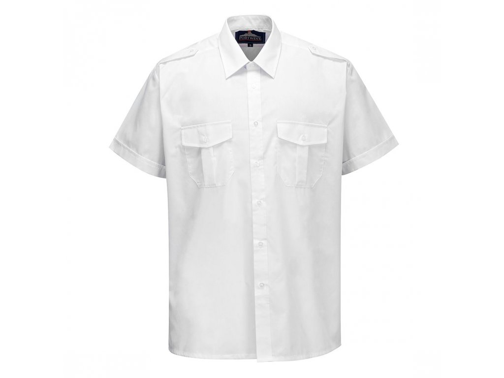 Pilot Shirt Short Sleeve