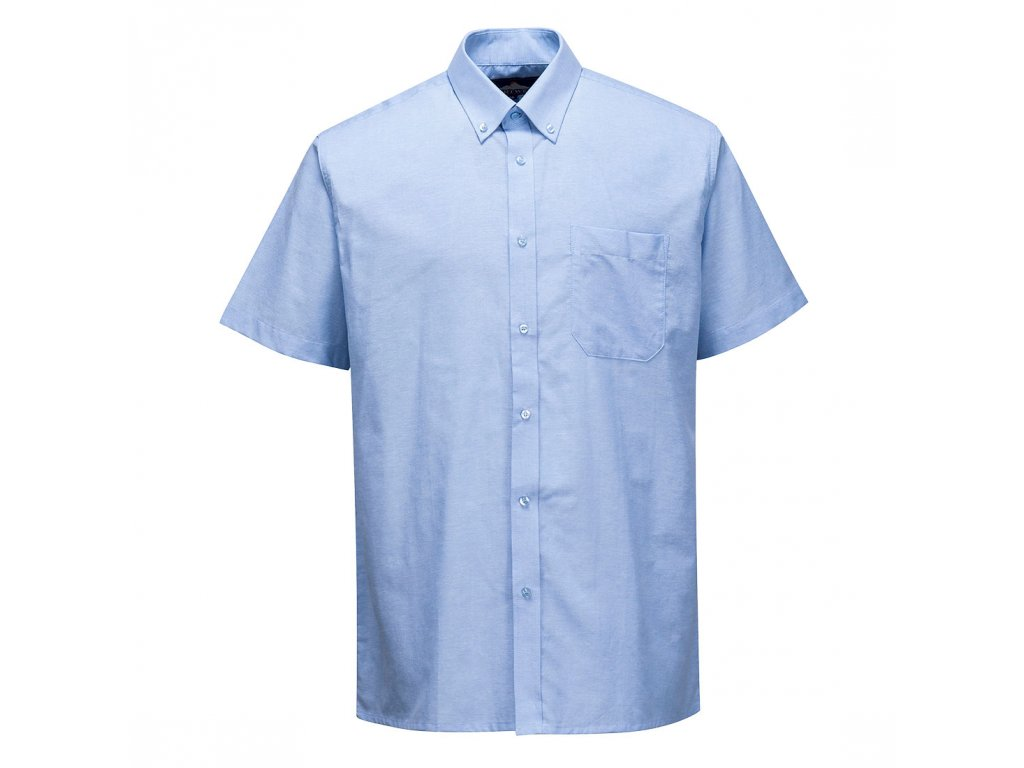 Košile Oxford Easycare s krátkými rukávy - snadná údržba