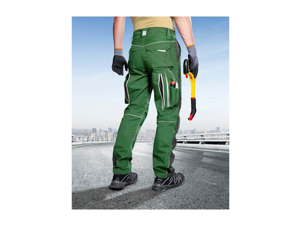 Kalhoty do pasu URBAN+ zelené
