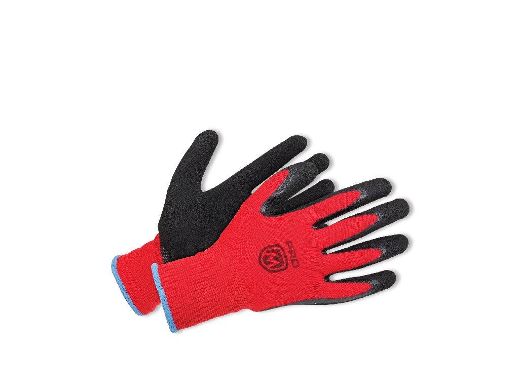 ProM MANOS Gloves black/red 12 párů