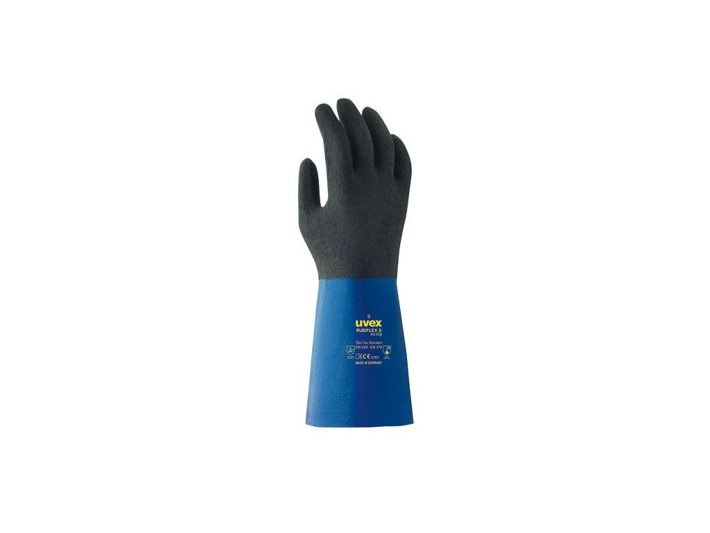 Ochranné rukavice uvex rubiflex S XG 35cm