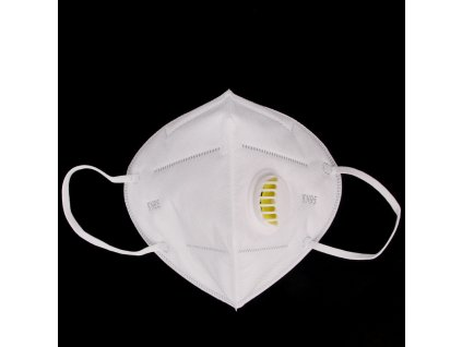 KN95 Folding Nonwoven Valved Dust Mask Disposable