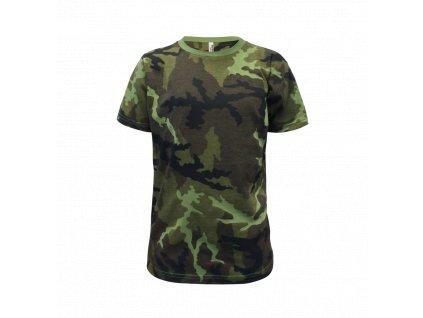 117 Tričko dětské Military