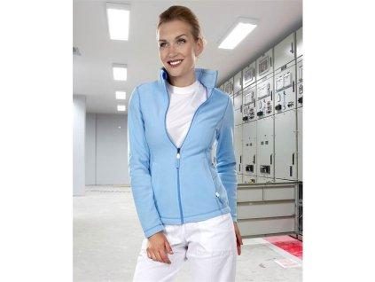 Mikina fleece YVONNE dámská, modrá L