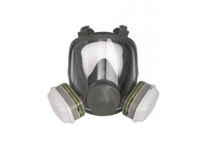 Celoobličejová maska 3M 6700 / 6800 / 6900