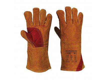 Zesílené svářečské rukavice