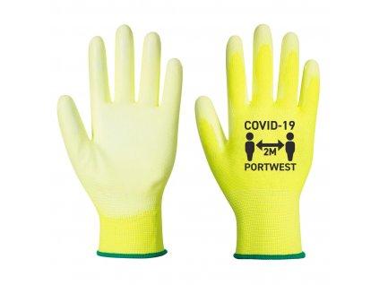 Rukavice Covid PU dlaň