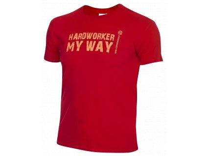 ProM HARDWORKER T-Shirt red/orange