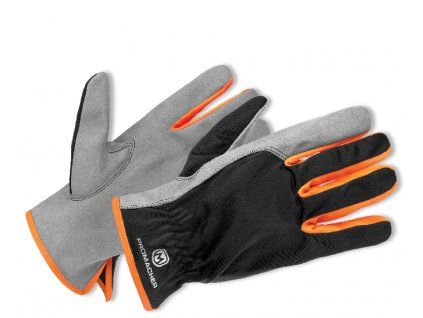 ProM CARPOS Gloves grey/orange 12 párů