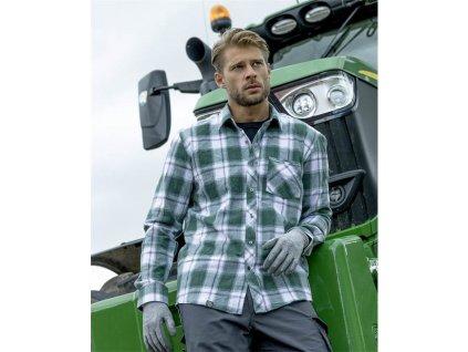Košile ARDON®OPTIFLANNELS zelená S