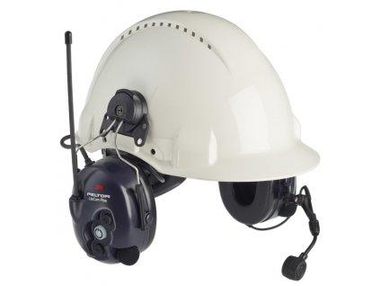 Mušlový chránič sluchu s uchycením LITECOM PLUS (31dB)