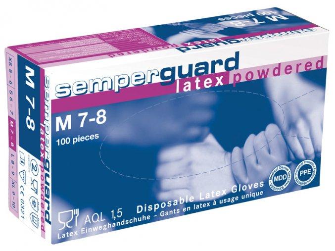 Rukavice SEMPERGUARD® LATEX PUDR