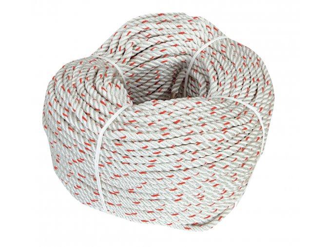 Třípramenné stočené flexibilní kotevní lano CLIMAX