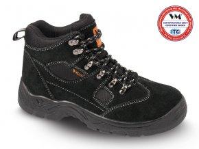 Bezpečnostní kožená kotníková obuv SAN MARINO S1P