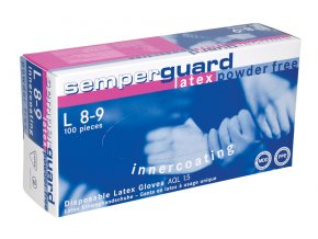 Rukavice SEMPERGUARD® LATEX NEPUDR IC