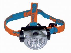 Vodotěsná čelová svítilna LED CLIMAX