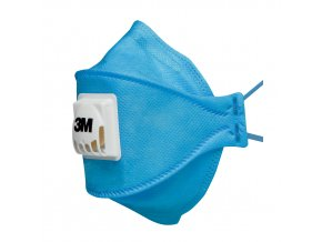 Skládaný třípanelový respirátor 3M™ Cool Flow AURA 9422 (FFP2)