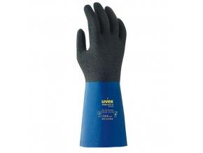 Ochranné rukavice uvex rubiflex S XG