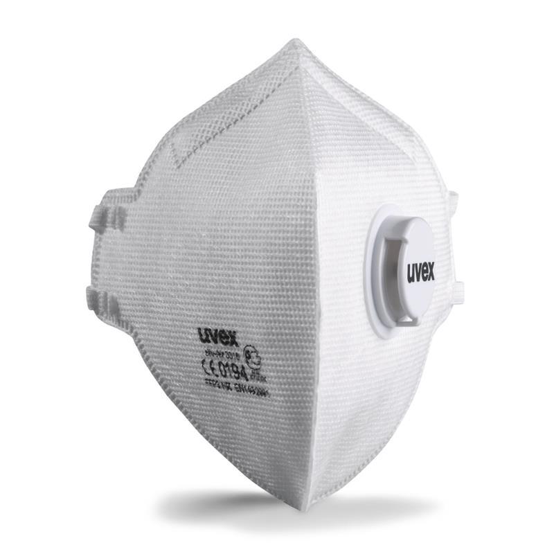 Skládací respirátor uvex FFP3 s ventilkem Počet ks: 1