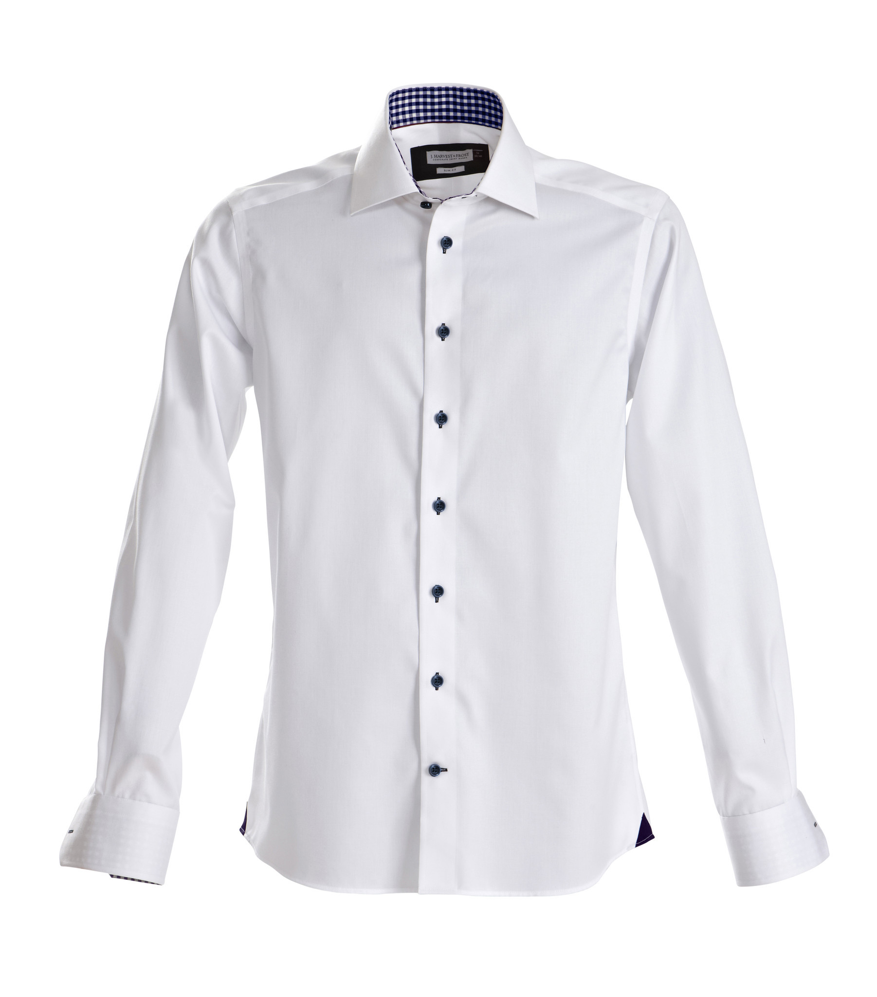 Red bow 20 - 1066 White/navy Velikost: 43/44-XL, Střih: SLIM FIT
