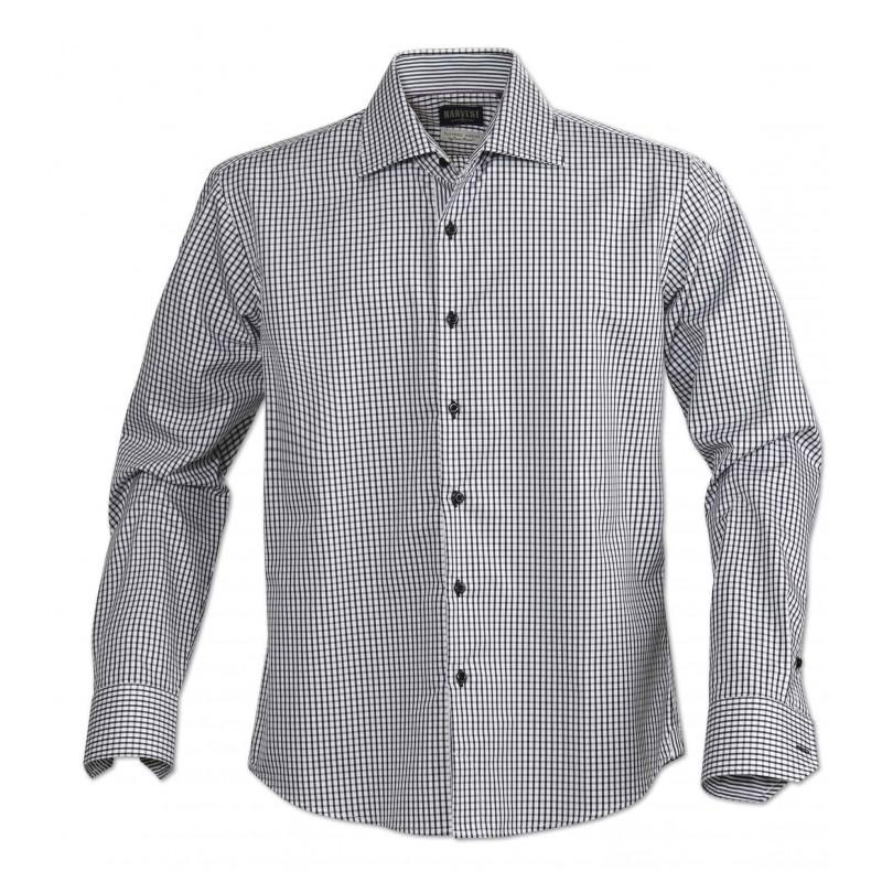 Pánská košile TRIBECA Barva: černá, Velikost: 43/44-XL
