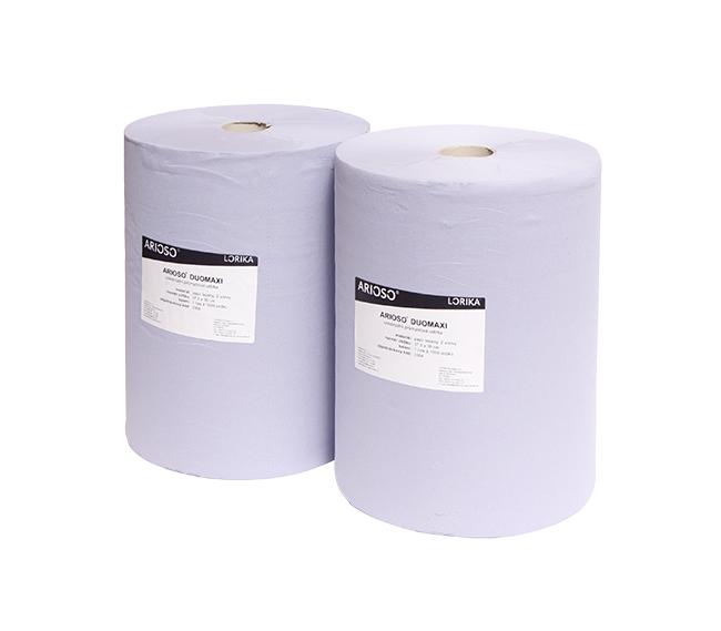 Průmyslové papírové utěrky - ARIOSO DUOMAXI Balení: 1
