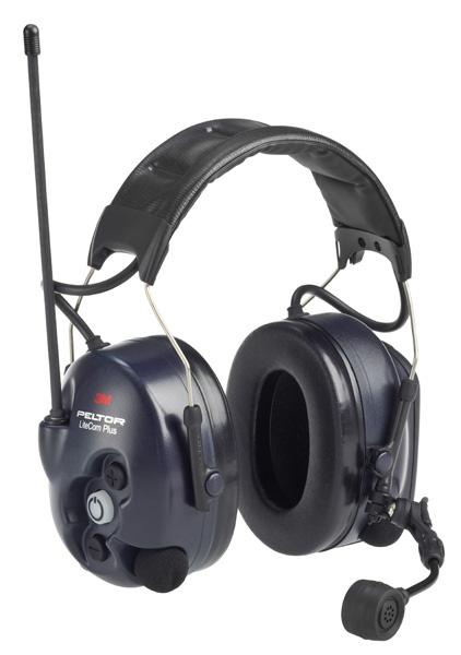 Mušlový chránič sluchu s komunikátorem LITECOM PLUS (30dB)