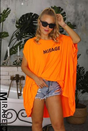 Oranžová tunika pre moletky