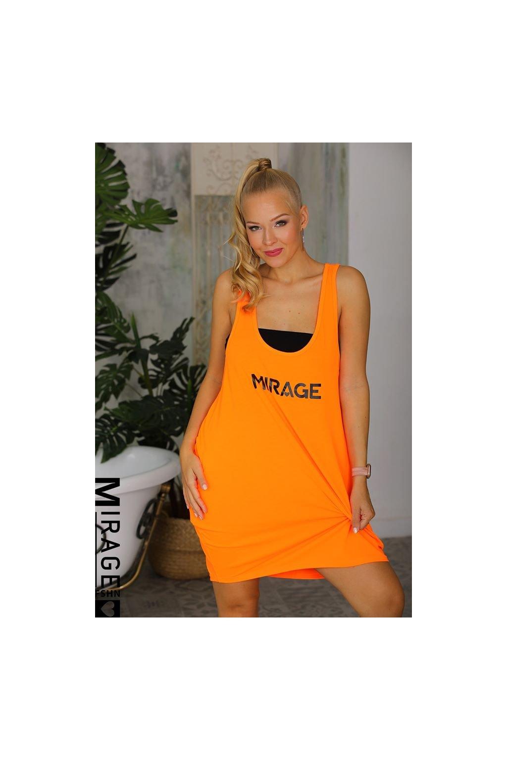 Tunika oranžová