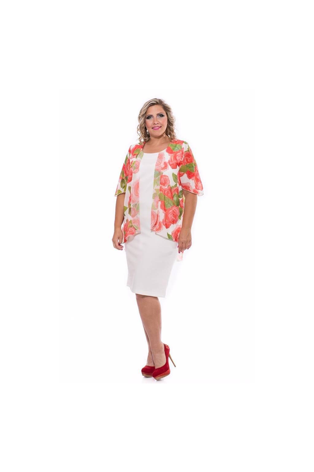 Julia šaty kvetinkové pre moletky