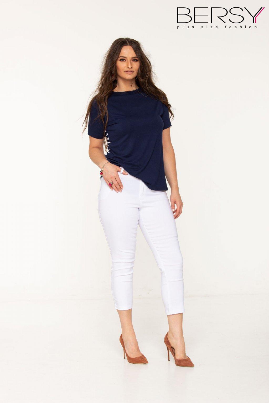 Léna nohavice biele BP pre moletky
