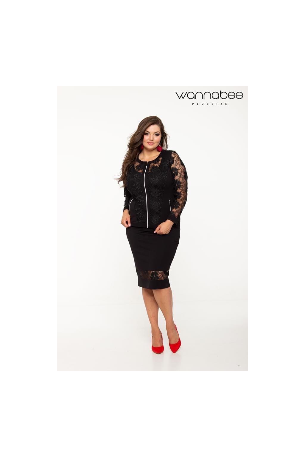 Florentina sukňa čierna