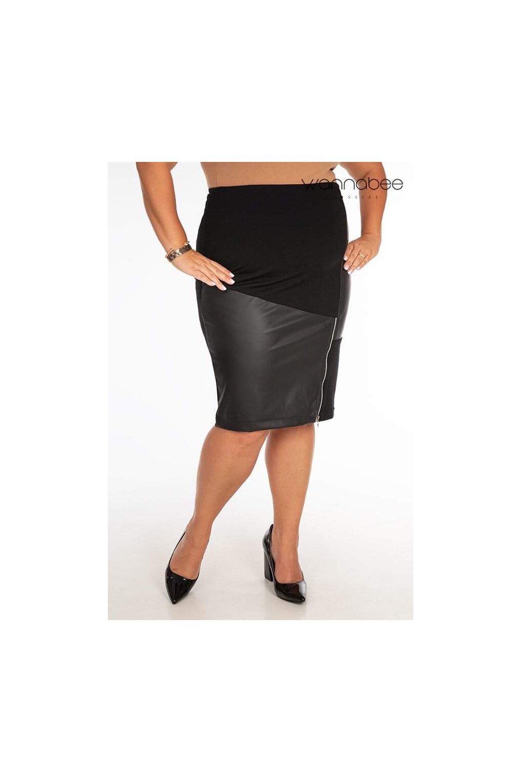 Mauricia sukňa čierna