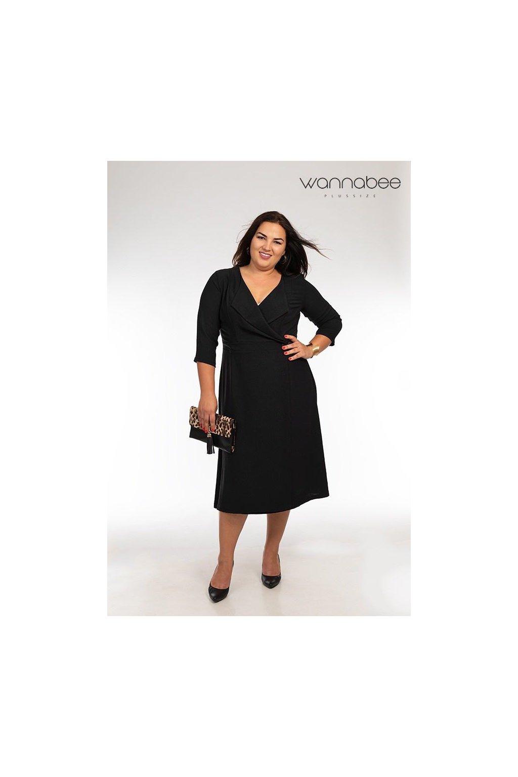 Kathy šaty čierne W