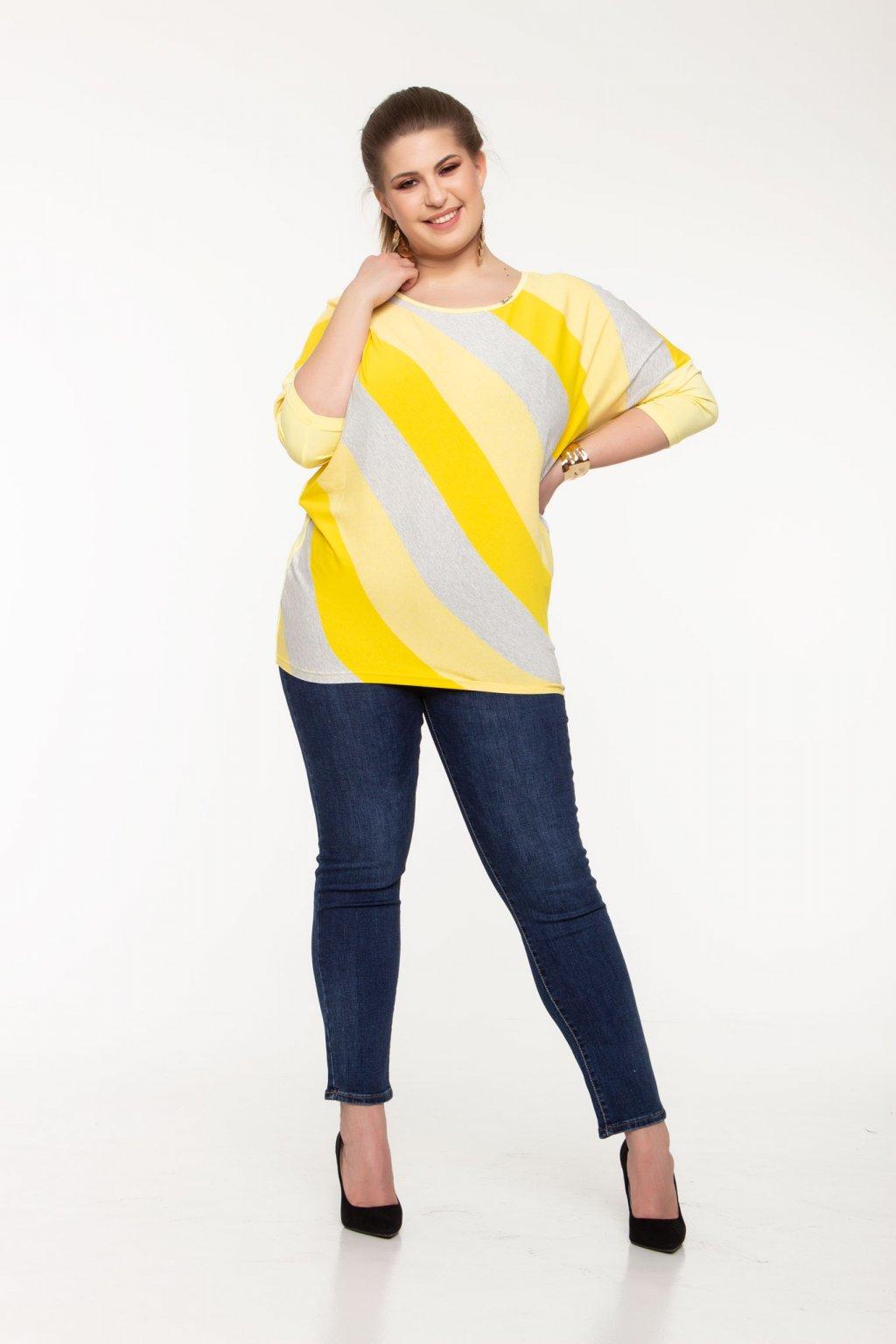 Ervínia tričko žlté