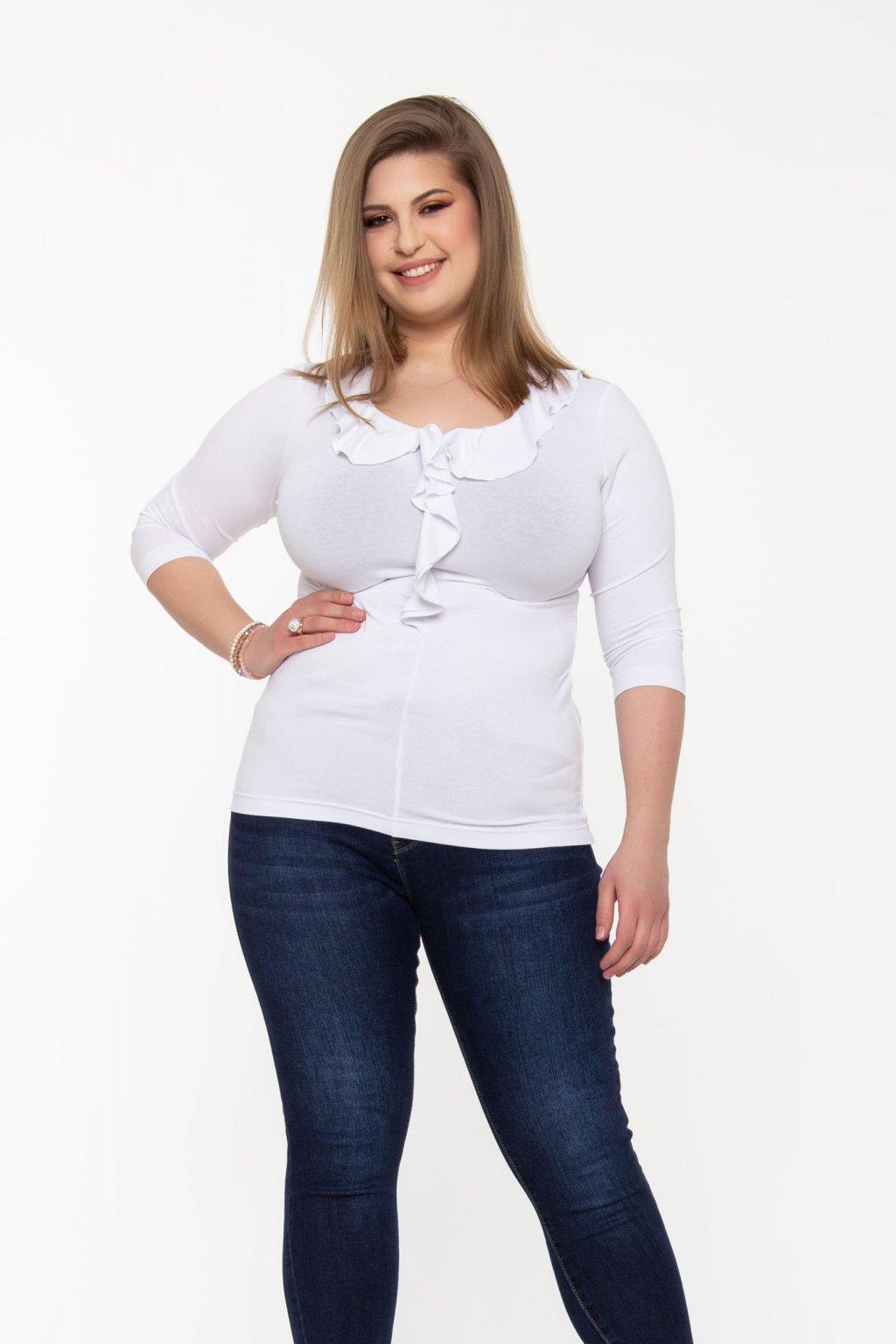 Cintia tričko biele