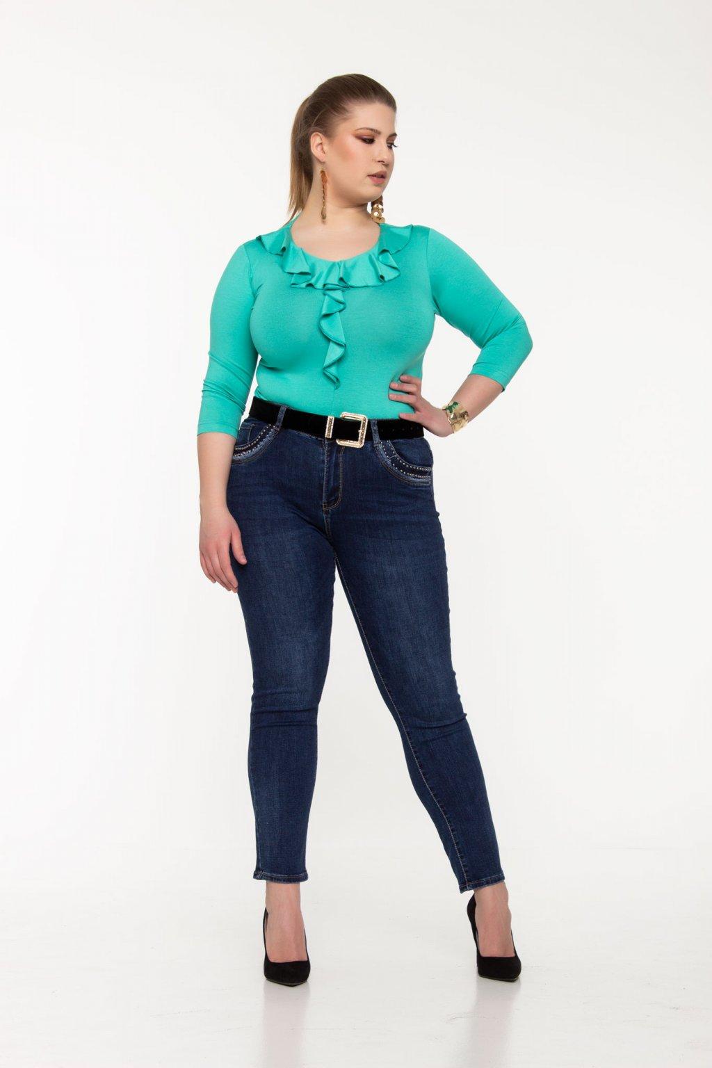 Cintia tričko zelené