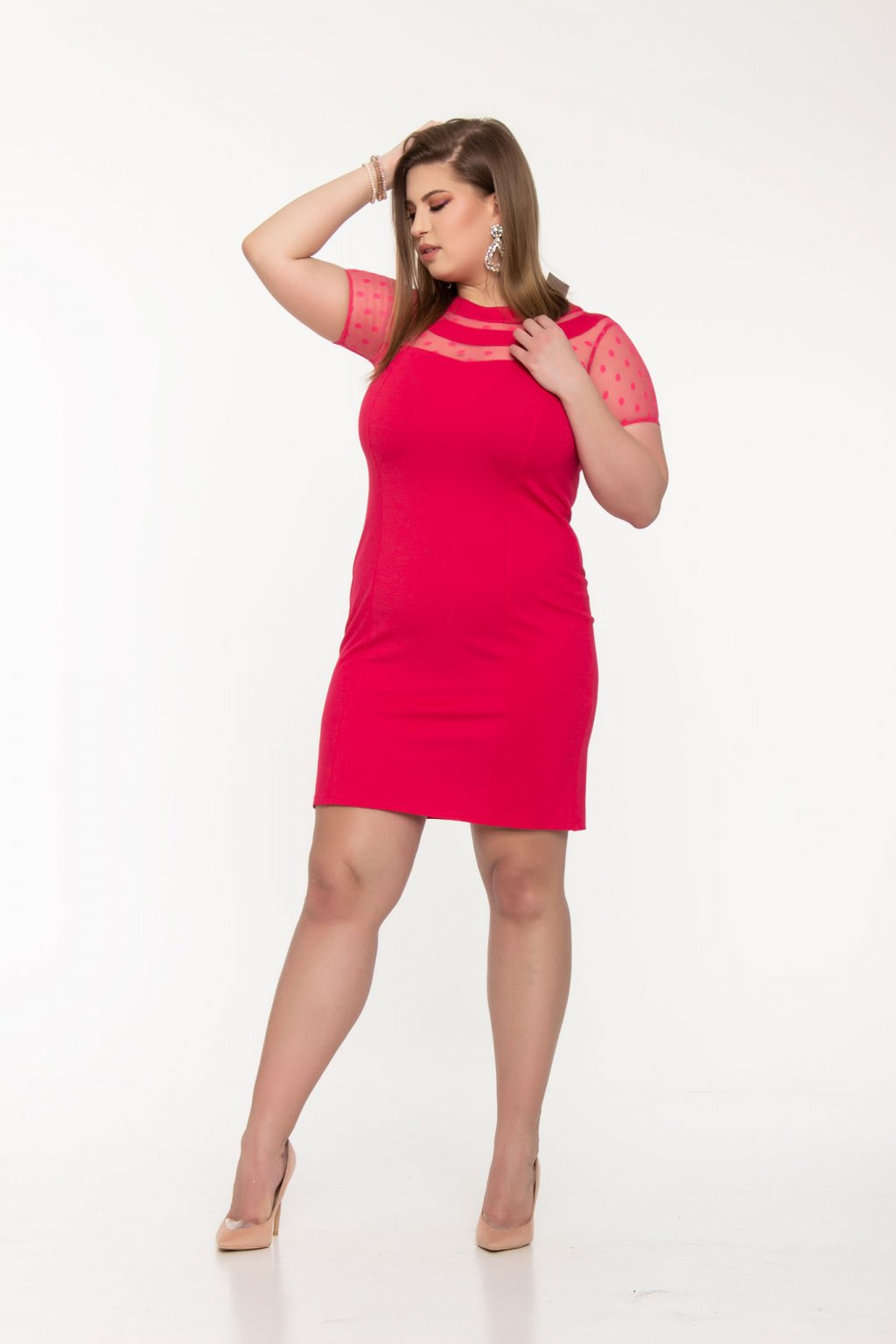 Mandy šaty pink