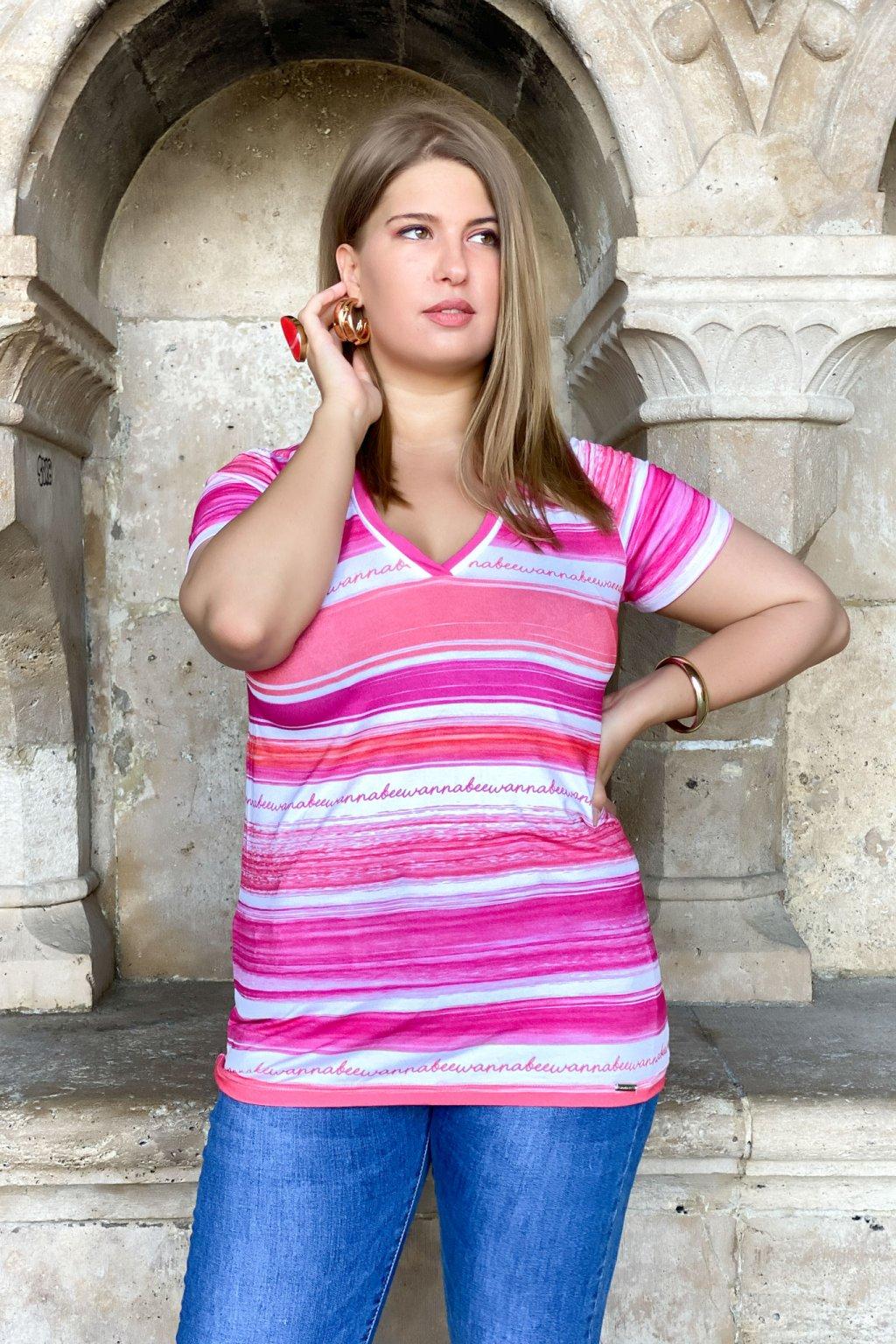 Keira tričko pink