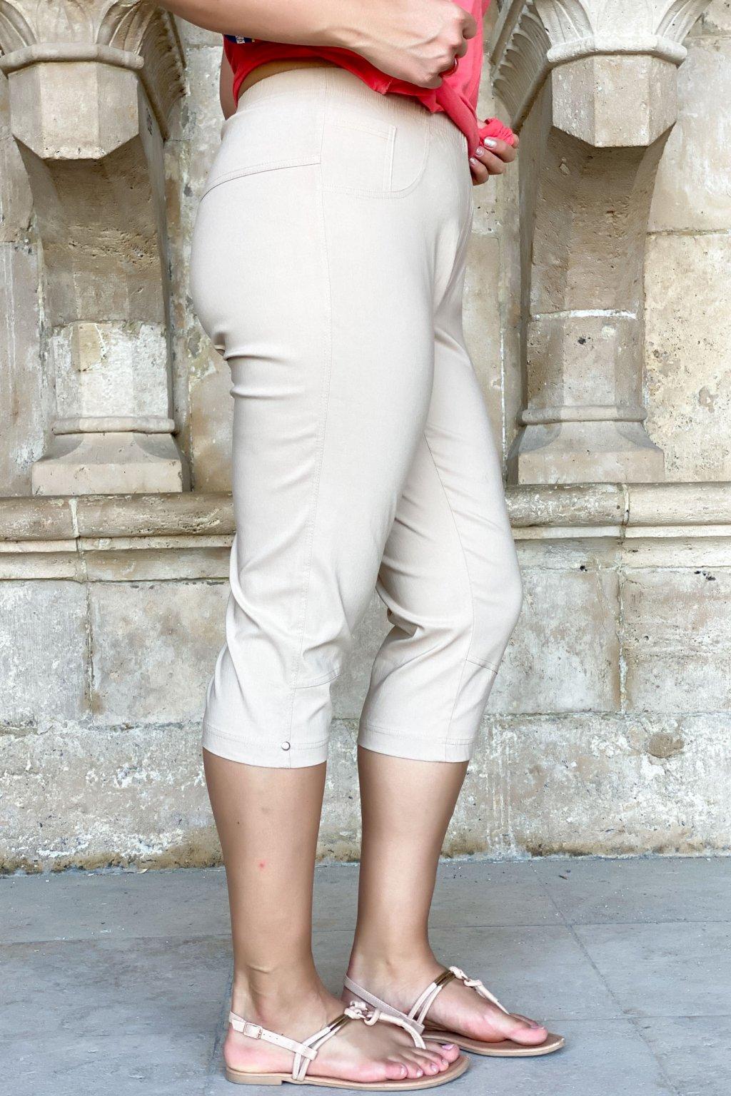 Alena nohavice béžové