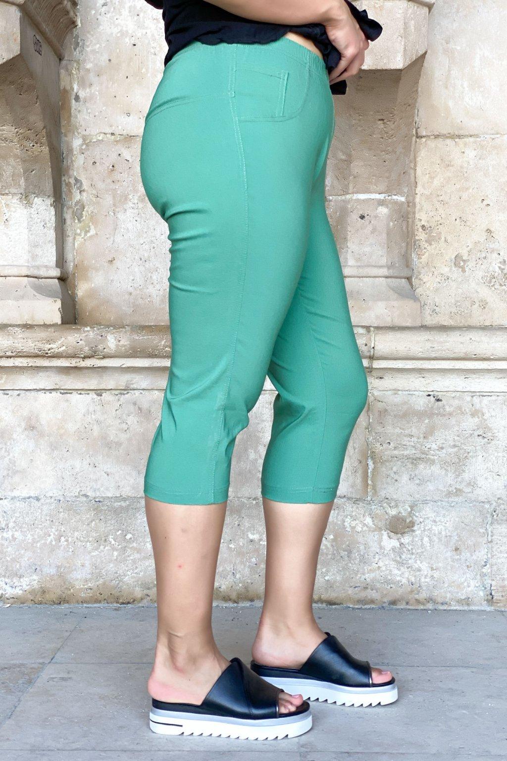 Alena nohavice zelené