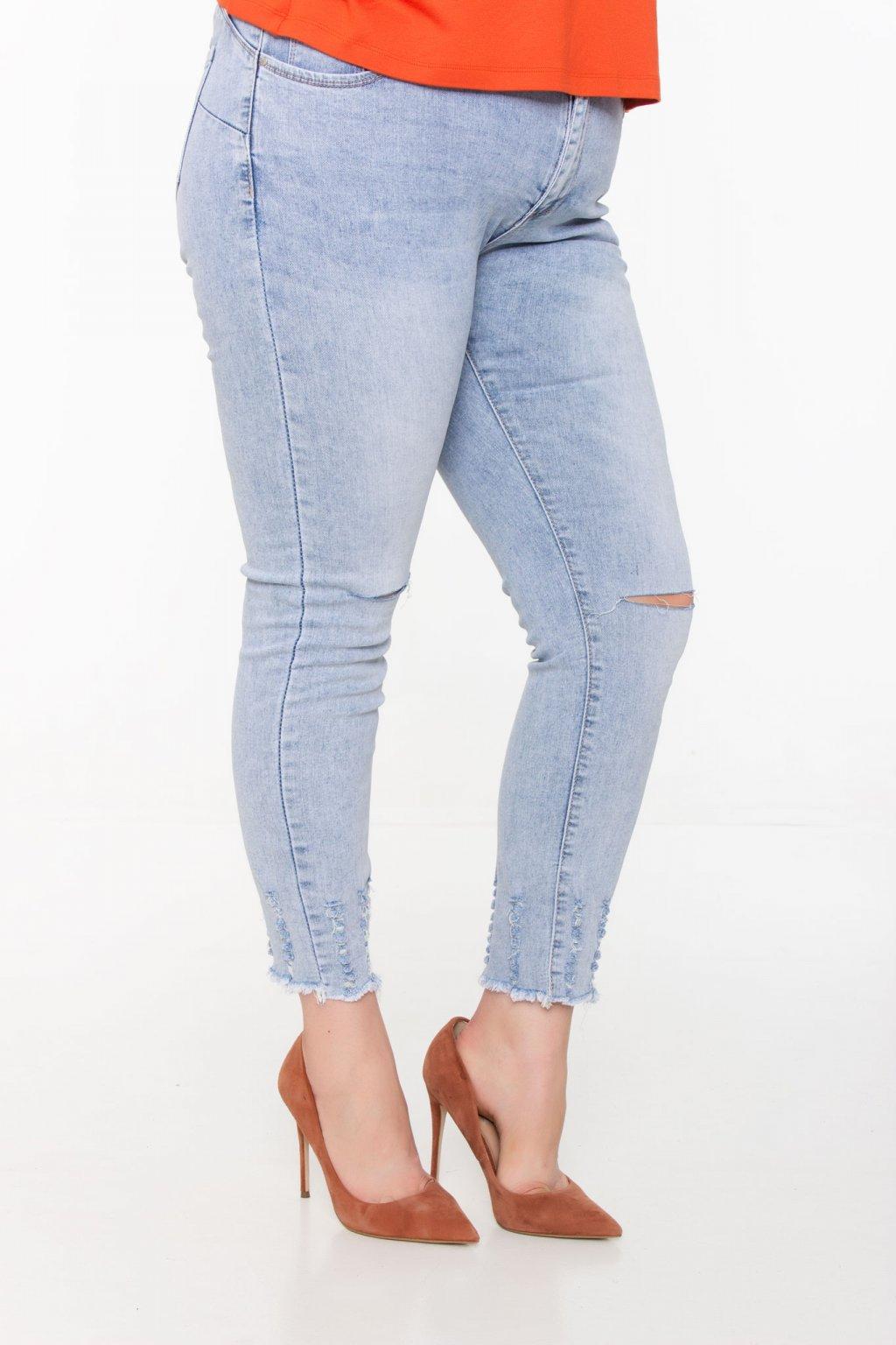 Kristína riflové nohavice modré