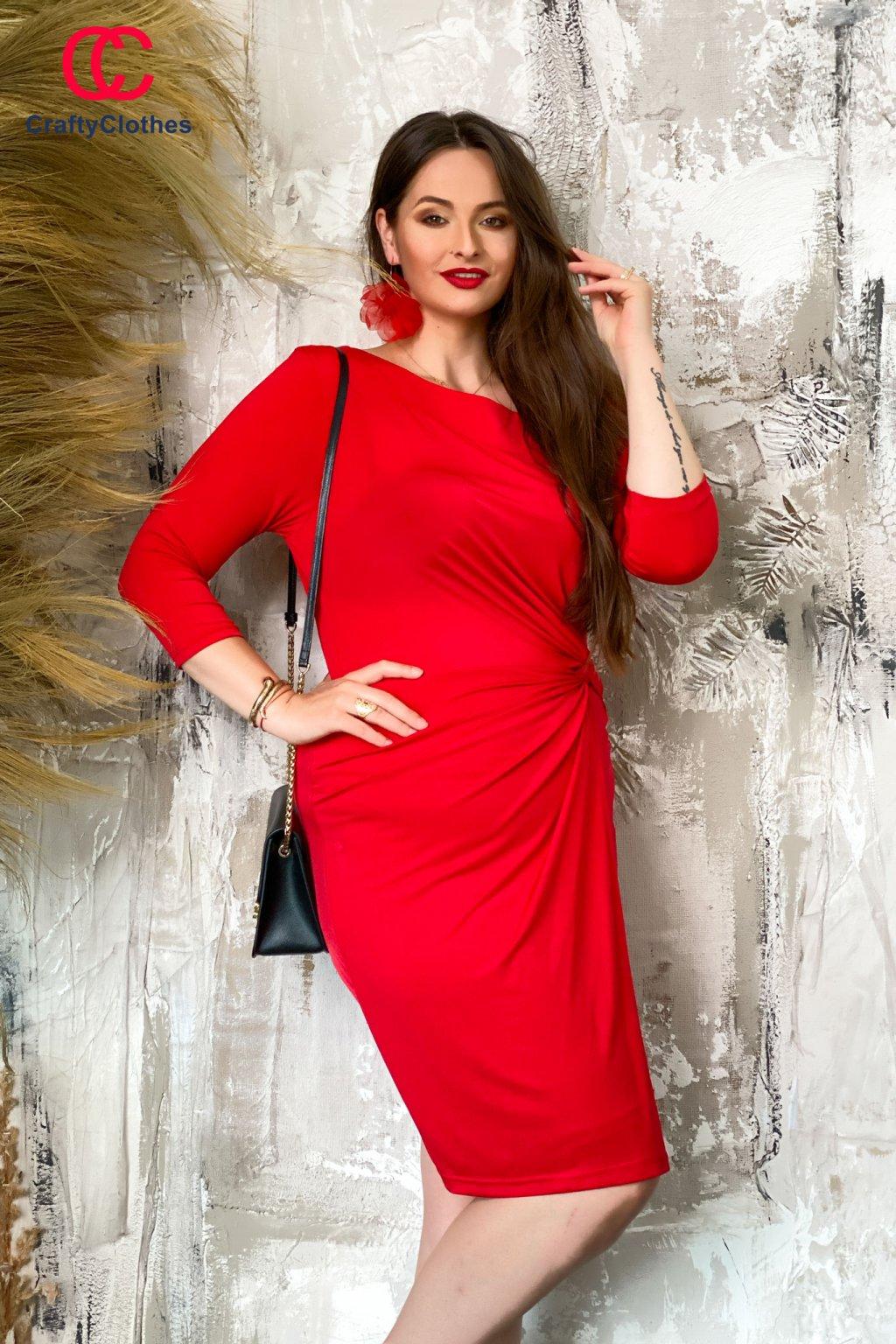 Syena šaty červené W