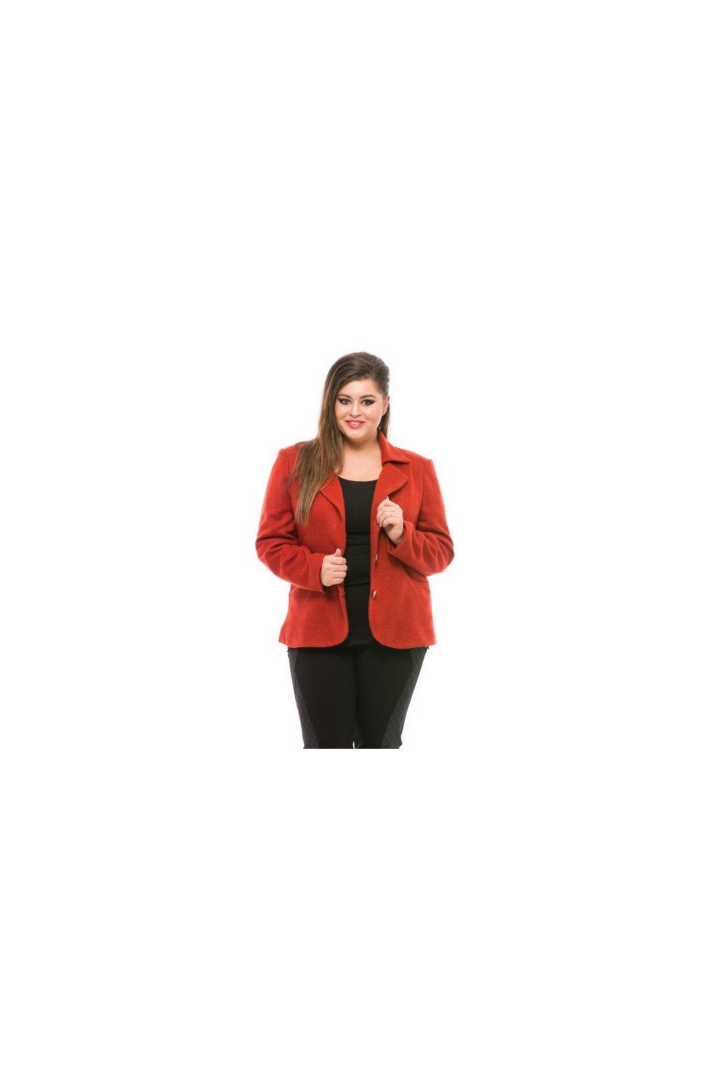 Carmelina Bordova XL XXL 3XL 4XL L spoločenský kabatik pre moletky spoločenske topy damska moda internetový obchod