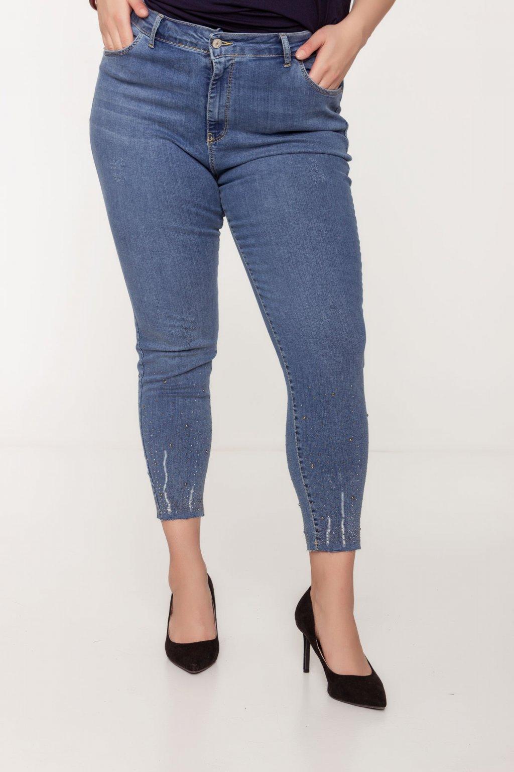 Ester riflové nohavice modré