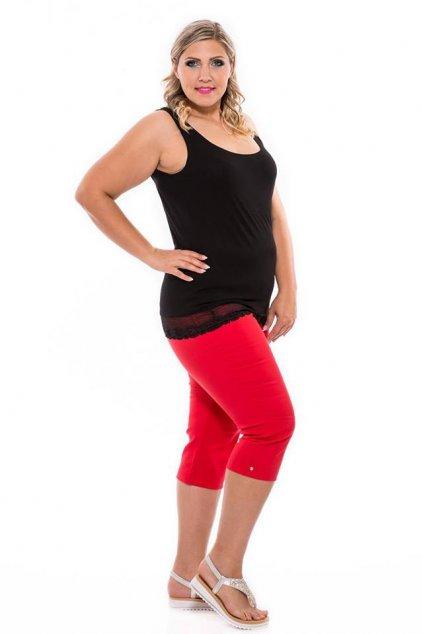 Alena nohavice červené pre moletky