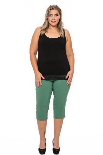 Alena nohavice zelené pre moletky