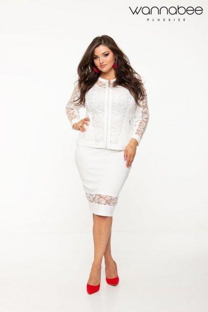 Florentina sukňa biela