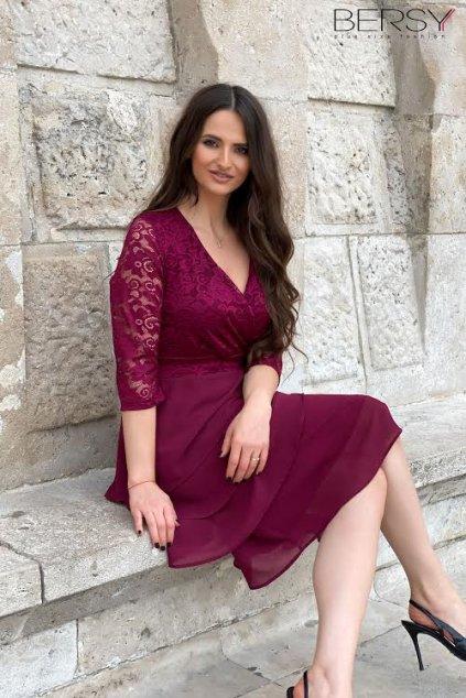 Aida šaty fialové BP